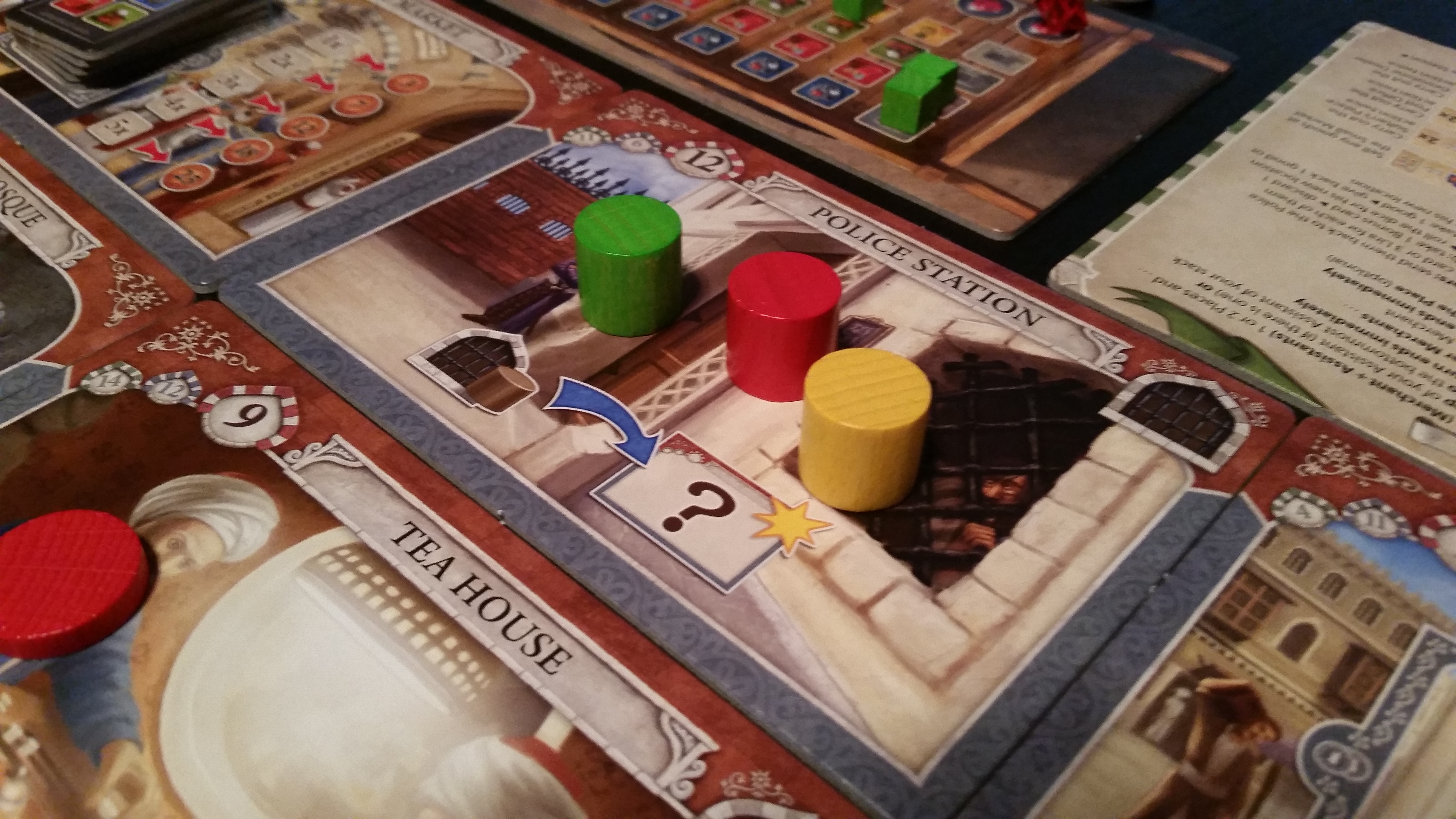 Istanbul Review They Might Be Merchants Gameosity - Digital board game table