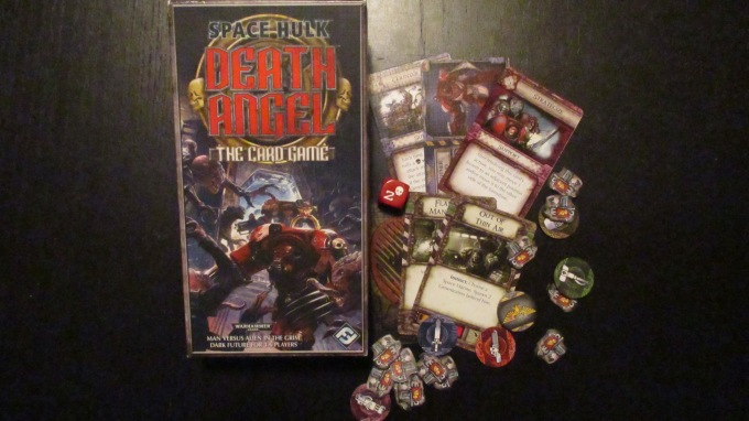 6 squads of Space Marines explore a derelict ship, which turns out to be far less abandoned than it appears...
