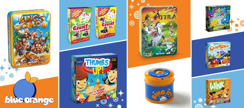 Blue Orange Games New Games