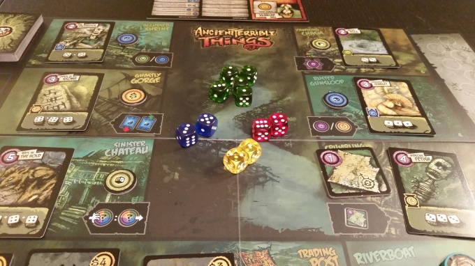 The board is laid out, the dice are arrayed, and the river awaits...