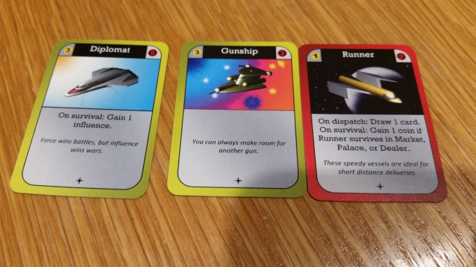 Some ship cards.