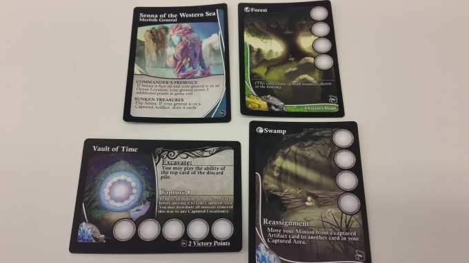 Here's a sample of the Artifact-centric cards included in the expansion.