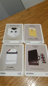 Some of the Level 2 Action cards.